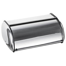Load image into Gallery viewer, Home-it Stainless Steel Bread Box for kitchen, bread bin, bread storage Bread holder 16.5x10x8 - zingydecor