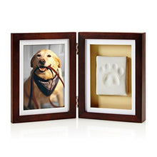 Load image into Gallery viewer, Pearhead Dog or Cat Paw Print Pet Keepsake Photo Frame
