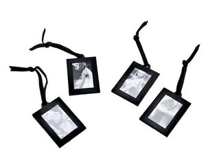 Klikel Extra Small Black Hanging Frames For Photo Picture Tree Display Stand, Set of 4
