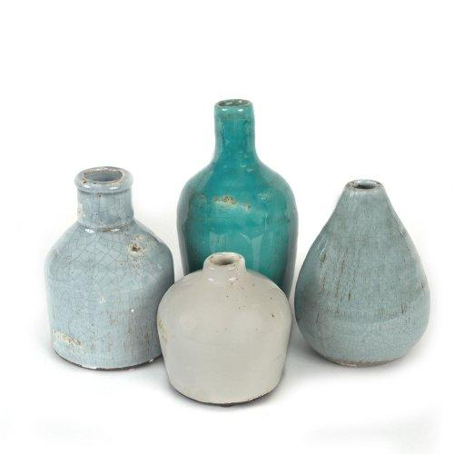 Creative Co-Op DA1092 Terra Cotta Vase Set - zingydecor