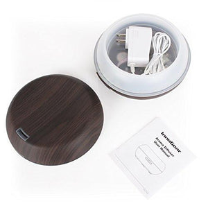 InnoGear Essential Oil Diffuser, 200ml Wood Grain Aromatherapy Diffuser Ultrasonic Cool Mist...