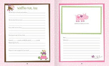 Load image into Gallery viewer, Baby Girl Memory Book Hardcover Record Babys First Five Years Diary Precious Moments Milestone... - zingydecor