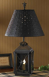 Park Designs Antique Colonial Inspired Blackstone Lantern Lamp - zingydecor