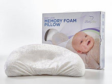 Load image into Gallery viewer, Baby Head Shaping Memory Foam Pillow & Bamboo Pillowcase. KEEP an Infant's head round.... - zingydecor