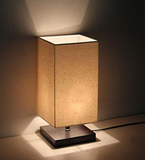 Minimalist Solid Wood Table Lamp Bedside Desk Lamp