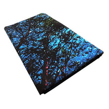 Load image into Gallery viewer, Forest Starry Tapestry Wall Hanging 3D Printing Forest Tapestry Galaxy Tapestry Forest Milky Way Tapestry Tree Tapestry Night Sky Tapestry Wall Tapestry for Dorm Living Room Bedroom (M, 4#forest star) - zingydecor