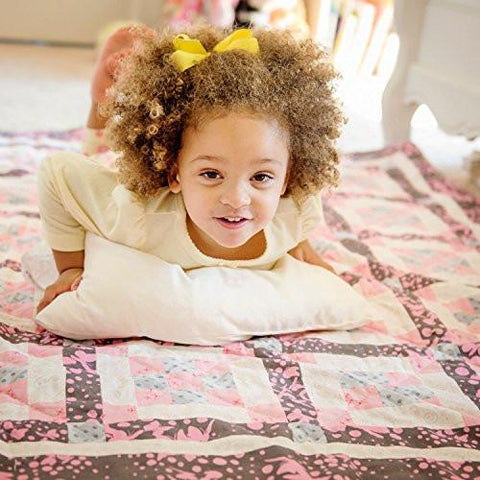 Image of Little One's Pillow - Toddler Pillow, Delicate Organic Cotton, Hand-Crafted in USA (13 in x 18 in)