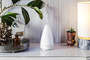 Viva Naturals Aromatherapy Essential Oil Diffuser - Vibrant Changeable LED Lights, Soothing Mist & Oxygen, Automatic Shut Off