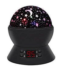 Load image into Gallery viewer, Star Sky Night Lamp, ANTEQI Baby Lights 360 Degree Romantic Room Rotating Cosmos Star Projector... - zingydecor
