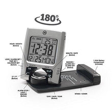 Load image into Gallery viewer, MARATHON CL030023 Travel Alarm Clock with Calendar & Temperature - Battery Included - zingydecor