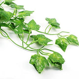 24pcs (157 Feet) Artificial Greenery Fake Ivy Leaves Garland Hanging for Wedding Party Garden Wall Decoration