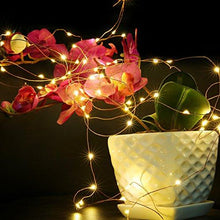 Load image into Gallery viewer, YIHONG 6 PCS Fairy Lights LED String Lights Battery Operated 7.2ft 20 Leds Firefly Lights Starry String Lights For Costume, Wedding, Bedroom, Halloween, Easter, Christmas Decoration (Warm White)