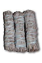 Load image into Gallery viewer, Premium California White Sage 4 Inch Smudge Sticks - 3 Pack, Alternative Imagination Brand - zingydecor