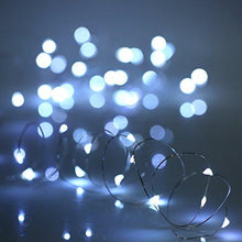 Load image into Gallery viewer, YIHONG 6 PCS Fairy Lights Cool White LED String Lights Battery Operated 7.2ft 20 Leds Firefly Lights Starry String Lights For Costume, Home Party, Wedding, Halloween, Easter, Christmas Decoration - zingydecor