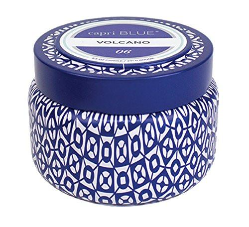 Capri Blue Volcano Printed Travel Tin Candle, 8.5 Ounce - zingydecor