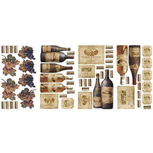 Load image into Gallery viewer, RoomMates RMK1257SCS Wine Tasting Peel & Stick Wall Decals - zingydecor