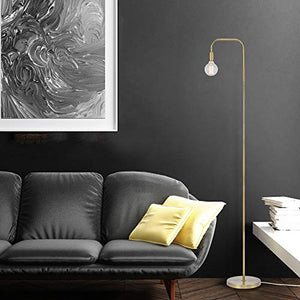 Globe Electric Downlight Holden Floor Lamp, Finish , In-Line On/Off Rocker Switch ,70""