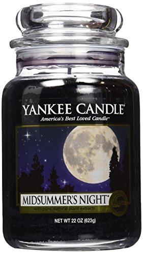Yankee Candle Company Midsummer's Night Large Jar Candle - zingydecor