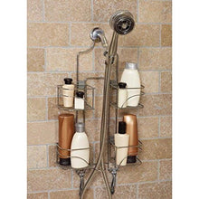 Load image into Gallery viewer, Zenna Home 7446SS, Expandable Over-the-Showerhead Caddy, Chrome - zingydecor