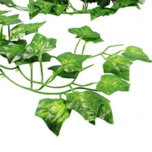 Load image into Gallery viewer, CEWOR 36pcs (236 Feet) Artificial Ivy Fake Greenery Vine Leaves for Home Wedding Garden Swing Frame Decoration - zingydecor