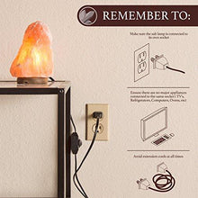 Load image into Gallery viewer, Crystal Allies Gallery CA SLS-S-2pc Natural Himalayan Salt Lamp with Dimmable Switch and 6' UL-Listed Cord (2 Pack) - zingydecor