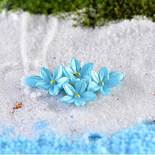 Kangnice 10Pcs Miniature Flower Moss Bonsai DIY Crafts Fairy Garden Landscape Decor
