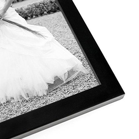 10-piece Multi Pack Black Picture Frame Value Set - Set of 10 Picture Frames - Two 8x10 Inches, Four 5x7 Inches, Four 4x6 Inches - Glass front on each frame - Hanging Hardware Included
