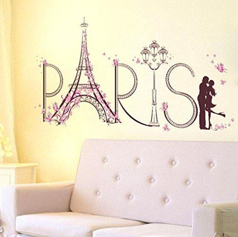 Image of Hatop Wall Stickers Romance Decoration Wall Poster Home Decor
