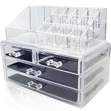 Load image into Gallery viewer, Acrylic Makeup Jewelry Cosmetic Organizer - Great for Organizing your Lipstick Nail Polish Makeup... - zingydecor