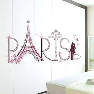Hatop Wall Stickers Romance Decoration Wall Poster Home Decor - zingydecor