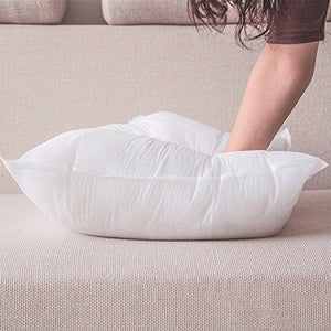 4 Packs Hippih Square Pillow Insert ,18x 18 Inch - zingydecor