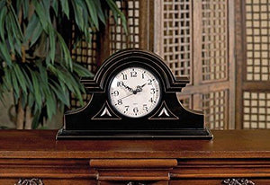 IMAX Black Mantel Clock