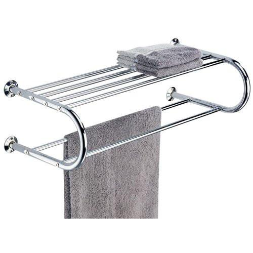 Organize It All Shelf with Towel Rack - zingydecor