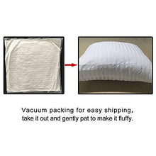 Load image into Gallery viewer, FabricMCC Square Pillow Inserts 18x18, Poly White Sham Hypoallergenic Stuffer Pillow Insert Sham - zingydecor