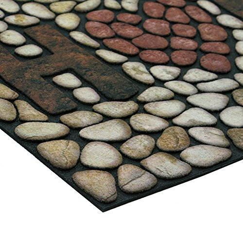 Masterpiece Home Stones Door Mat, 18-Inch by 30-Inch