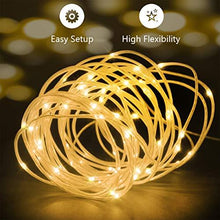 Load image into Gallery viewer, LED Fairy Lights 33ft 100 LEDs Battery Operated String Lights Waterproof Multi Color Changing, Firefly Lights with Remote Control for Indoor,Outdoor,Bedroom,Patio,Wedding,Party Christmas Decorations - zingydecor