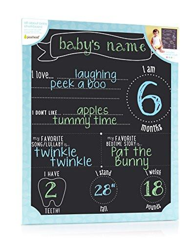 Pearhead Chalkboard Photo Background, Black