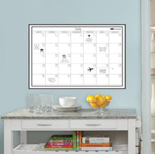 Load image into Gallery viewer, Wall Pops WPE0447 24-Inch by 36-Inch Peel and Stick Dry Erase Monthly Calendar Decal - zingydecor
