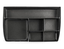 Load image into Gallery viewer, Mindspace Office Desk Organizer with 6 Compartments + Drawer The Mesh Collection, Black - zingydecor