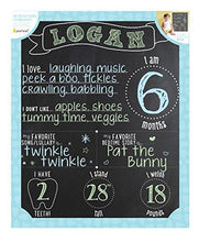 Load image into Gallery viewer, Pearhead Chalkboard Photo Background, Black
