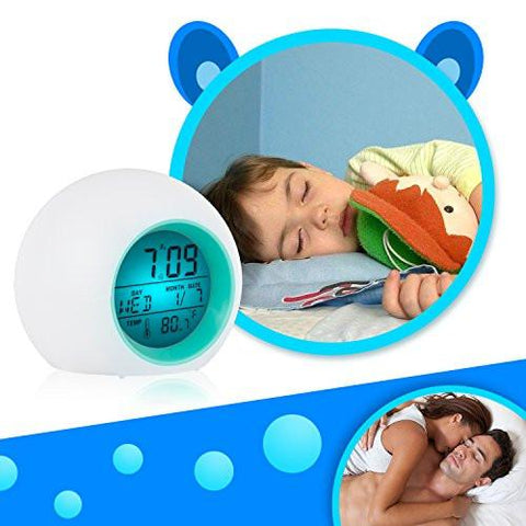 Image of Alarm Clock, Awakelion Wake Up Light Clock Premium Digital Display Model for Adults, Kids & Teens - zingydecor