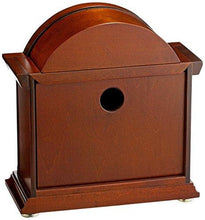 Load image into Gallery viewer, Seiko Mantel Chime Clock Brown Wooden Case - zingydecor