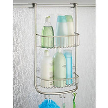 Load image into Gallery viewer, InterDesign Forma Bathroom Over Door Shower Caddy for Shampoo, Conditioner, Soap