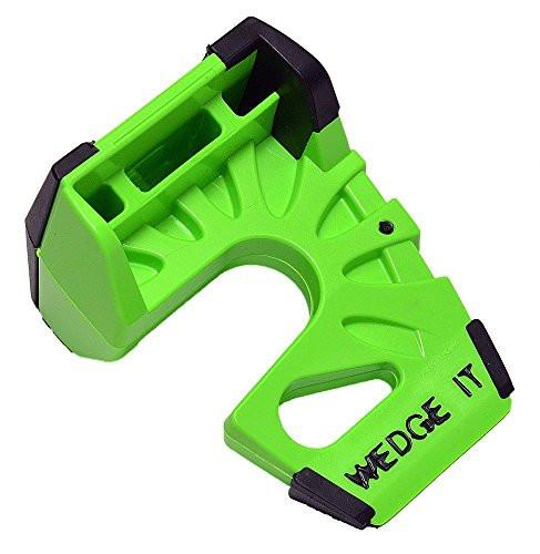 Wedge-It WEDGE-IT-1 The Ultimate Door Stop, Lime Green - zingydecor