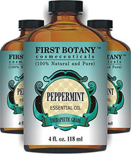 Load image into Gallery viewer, Peppermint Essential Oil 4 fl.oz - 100% Pure & Natural Mentha Piperita Therapeutic Grade...
