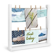 Load image into Gallery viewer, Umbra Hangit Desk Photo Display, White