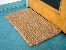 Load image into Gallery viewer, Kempf Rectangle Dragon Coco Coir Doormat, 18-inch by 30-inch