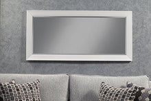 Sandberg Furniture 15411 Contemporary Full Length Leaner Mirror Frame, White - zingydecor