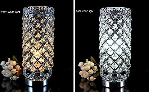 Crystal Silver Table Lamp Zingydecor
