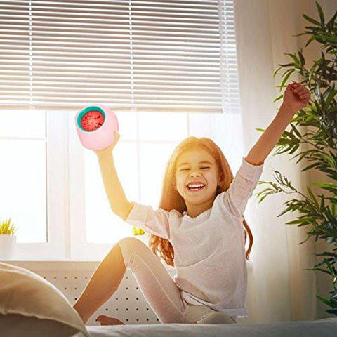 Image of Alarm Clock, Awakelion Wake Up Light Clock Premium Digital Display Model for Adults, Kids & Teens
